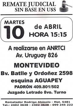 Inmueble en Bvar. Batlle y Ordoñez