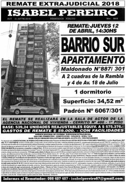 Apartamento Barrio Sur - ANV -