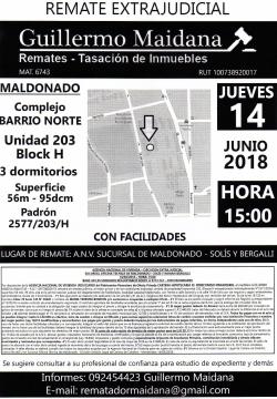 Unidad 203 Complejo Barrio Norte - ANV -