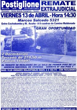 Gran oportunidad cerca de Cno.Maldonado - ANV -
