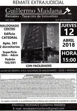 Inmueble en Centro de Maldonado - ANV -
