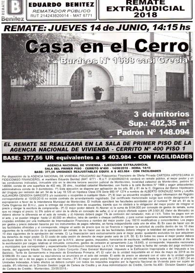 Casa en el Cerro - ANV-