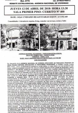 Casa de 1 Dormitorio - ANV -